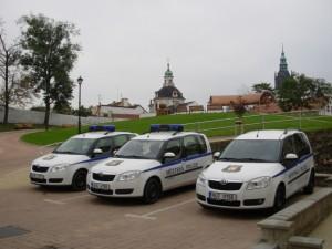 Služební auta MP Litoměřice